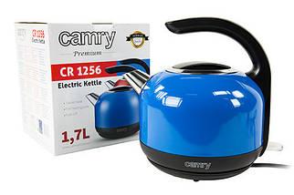 Электрочайник металлический Camry CR 1256b 1,7 литр, фото 3