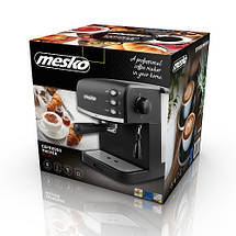 Кофеварка эспрессо Mesko MS 4409 black 15 Bar, фото 3