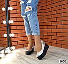Женские туфли цвета серебро на платформе, натуральная кожа 36 ПОСЛЕДНИЙ РАЗМЕР, фото 6
