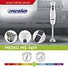 Погружной ручной блендер (блендер, миксер, чоппер) Mesko MS 4619 мощность 300вт, фото 2