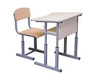 Школьная мебель на заказ. Парты + стулья (4,5,6 ростовая категории)