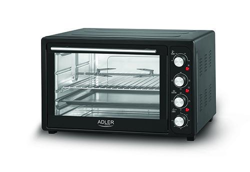 Электрическая печь духовка Adler AD 6010 обьем 45л мощность 2000вт