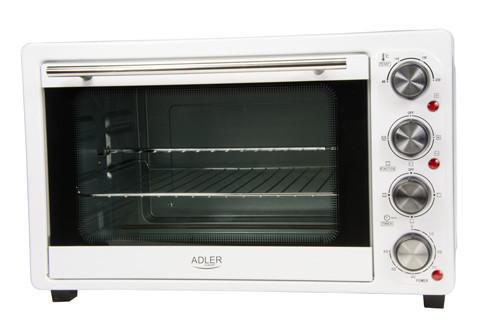 Электрическая печь духовка Adler AD 6001 обьем 35л мощность 1500вт