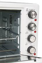 Электрическая печь духовка Adler AD 6001 обьем 35л мощность 1500вт, фото 2