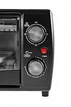Электрическая печь духовка Camry CR 6016 обьем 9л мощность 1400вт, фото 2
