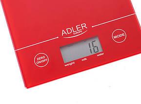 Кухонные весы электронные Adler AD 3138 r, фото 2
