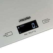 Кухонные весы электронные Mesko MS 3145, фото 3