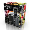 Соковыжималка Adler AD 4125  1000 Вт система Anti-drip, контейнер 2,5 л, фото 3