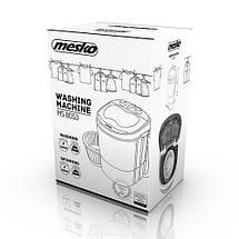 Стирально-центрифужная машинка туристическая Mesko MS 8053 для кемпинга, фото 3