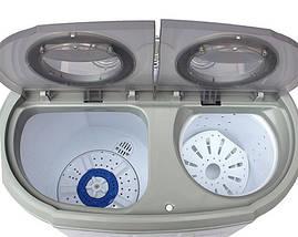 Стирально-центрифужная машинка туристическая Camry CR 8052 для кемпинга, фото 2
