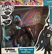 Музыкальная лошадка принцесса Луна  / Фигурка Пони единорог 2013