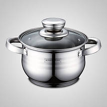 Набор кухонной посуды 10в 1 Royalty Line RL-12323кастрюли, сотейник, сковорода, фото 3