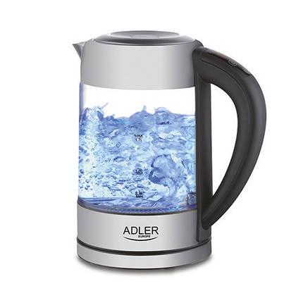 Электрочайник  с контролем температуры Adler AD 1247 NEW 1,7 литр, фото 2