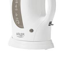 Электрочайник Adler AD 03 пластиковый 1,0 литр, фото 3