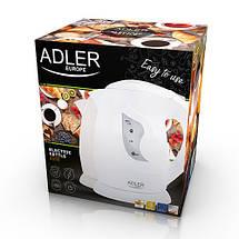 Электрочайник Adler AD 08 b beije пластиковый 1,0 литр, фото 3