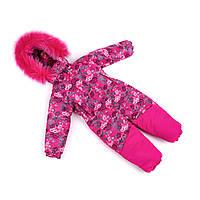 Зимний костюм для девочки  от производителя 92-104 малиновый