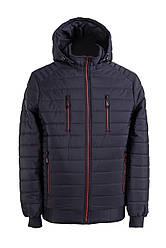 Куртки мужские весна осень    с капюшоном   48-56  синий
