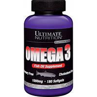 Ultimate Nutrition Ненасыщенные жирные кислоты Ultimate Nutrition Omega 3, 180 капс.