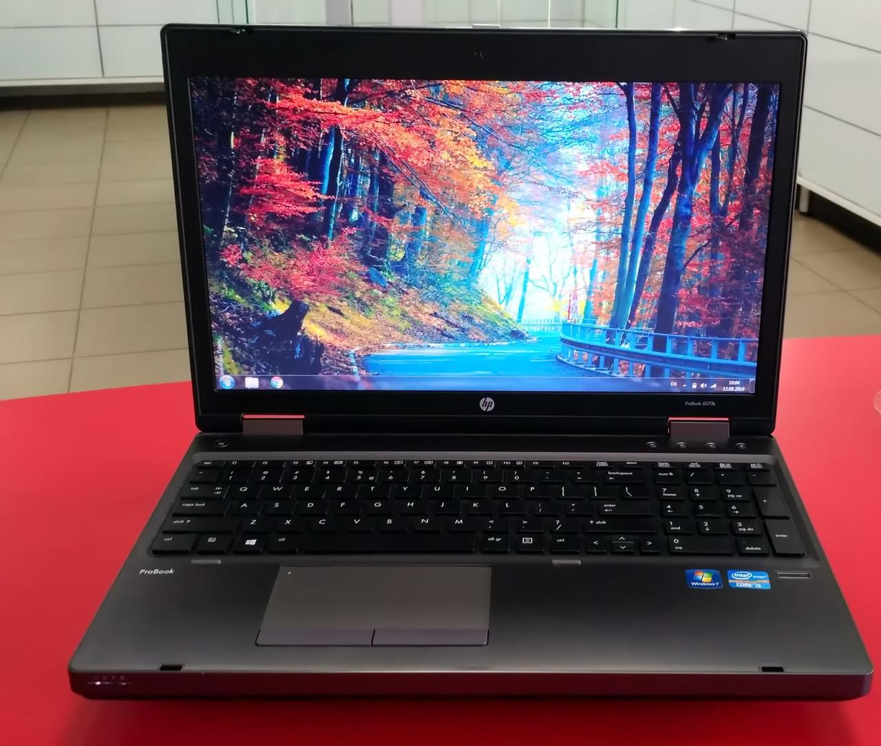 """Ноутбук HP ProBook 6570b 15.6"""" Intel Core i5 2.6 GHz 4 GB RAM 320 GB HDD Silver Б/У"""