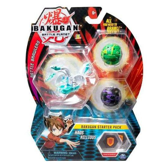 Bakugan.Battle planet: набор 3 бакугана Хаос Ниллиус (Haos Nillious)