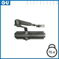 Доводчик GU OTS 140 (коленная тяга) серый