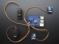 16 канальний 12-bit PWM/Servo для Raspberry Pi I2C інтерфейс, фото 1