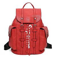 ✔️ Красный рюкзак Supreme