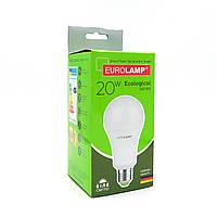 """LED Лампа Eurolamp ECO серия """"P"""" A75 20W 4000K"""