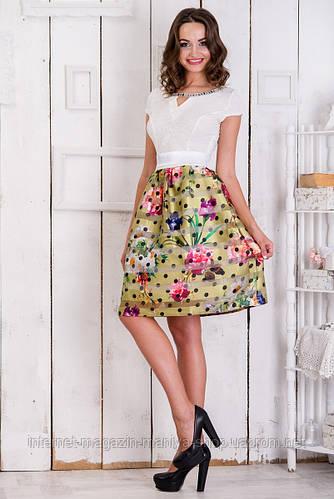 Повседневное короткое платье