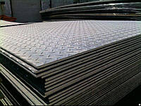 Лист стальной рифленый 3х1250х3000 ГОСТ 8568-77
