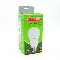 "LED Лампа Eurolamp ECO серия ""P"" A70 15W E27 4000K, фото 1"