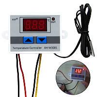 Терморегулятор 220V 1500Вт 10А xh-w3001 регулятор температуры