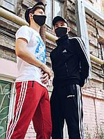 Штаны спортивные мужские в стиле Adidas, осенние / весенние