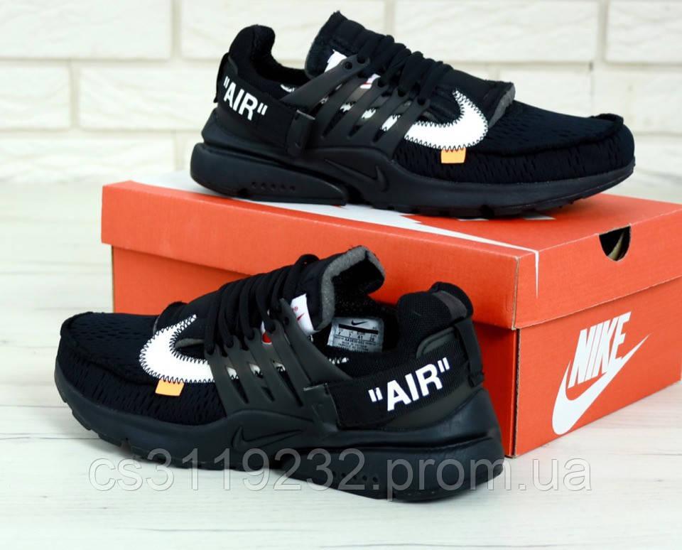 Мужские кроссовки Nike Air Presto (черные)