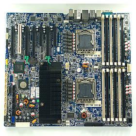 HP Z800 Двухпроцессорная материнская плата рабочей станции (460838-001 LGA1366)