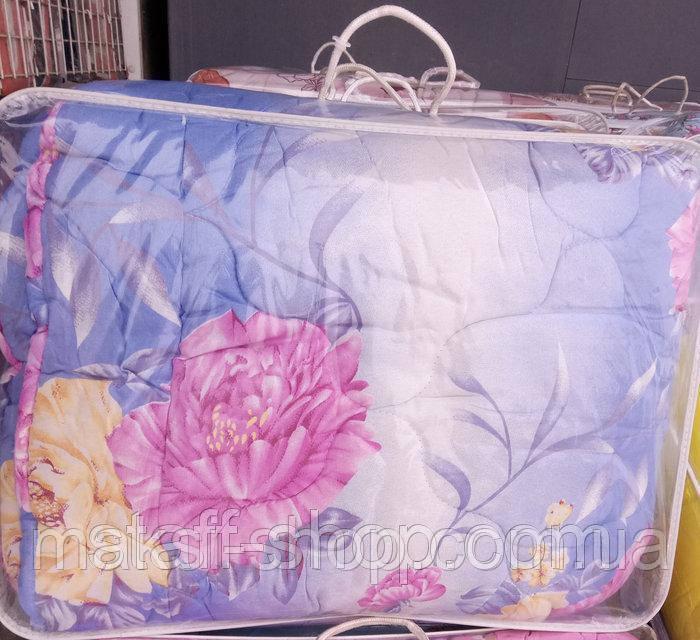 Полуторное одеяло овчина в подарочном чемодане ткань полиэстер Г-0008