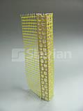 Уголок ПВХ перфорированный с сеткой 7х7см, 3м, фото 7