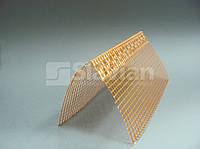 Уголок ПВХ перфорированный с сеткой 10х10см, 3м РАСПРОДАЖА