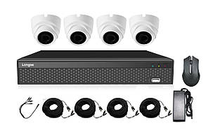 Комплект AHD видеонаблюдения 2Мп