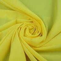 Шифон однотонный _желтый