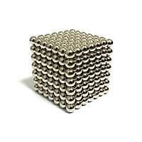 Неокуб NeoCube Серебристый 7×7 (343 шарика по 5 мм)