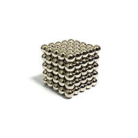 Неокуб NeoCube Серебристый 5×5 (125 шариков по 5 мм)