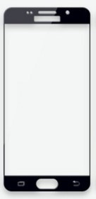 Защитное стекло 3D Samsung Galaxy A5 A520 (2017) черное