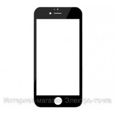 Защитное стекло 3D iPhone 6 / 6S черное