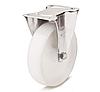 Колеса полиамидные из высококачественного полиамида-6 диаметр 80 мм с неповоротным кронштейном