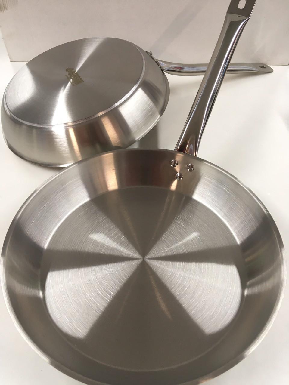 Сковорода нерж BENSON BN-638/ 30см (20 шт/ящ)