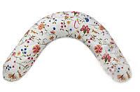 """Подушка для беременных и кормления """"Classik"""", весенние цветы, фото 1"""
