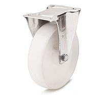 Колеса полиамидные из высококачественного полиамида-6 диаметр 125 мм с неповоротным кронштейном