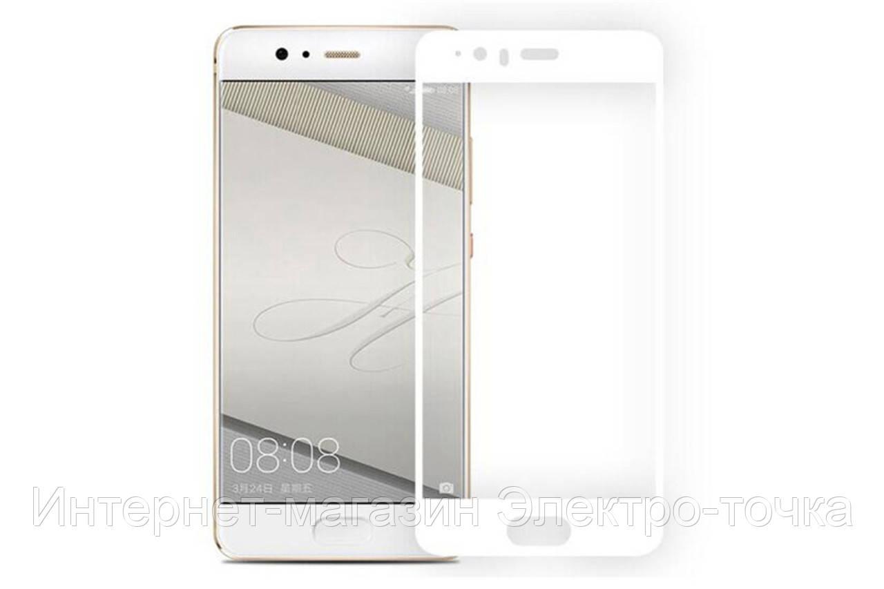 Защитное стекло 3D Huawei P10 Plus белое