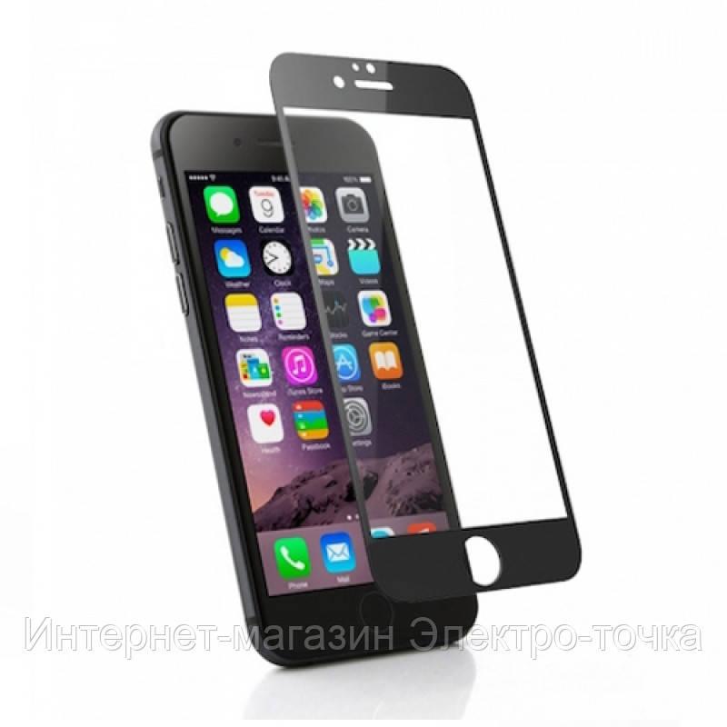 Защитное стекло 3D iPhone 6+ черное